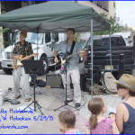 The Gully Hubbards playing at Hoboken's Garden Street Farmer's Market