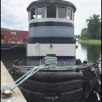 Tugboat at the 2015 Tugboat Roundup in Waterford, NJ